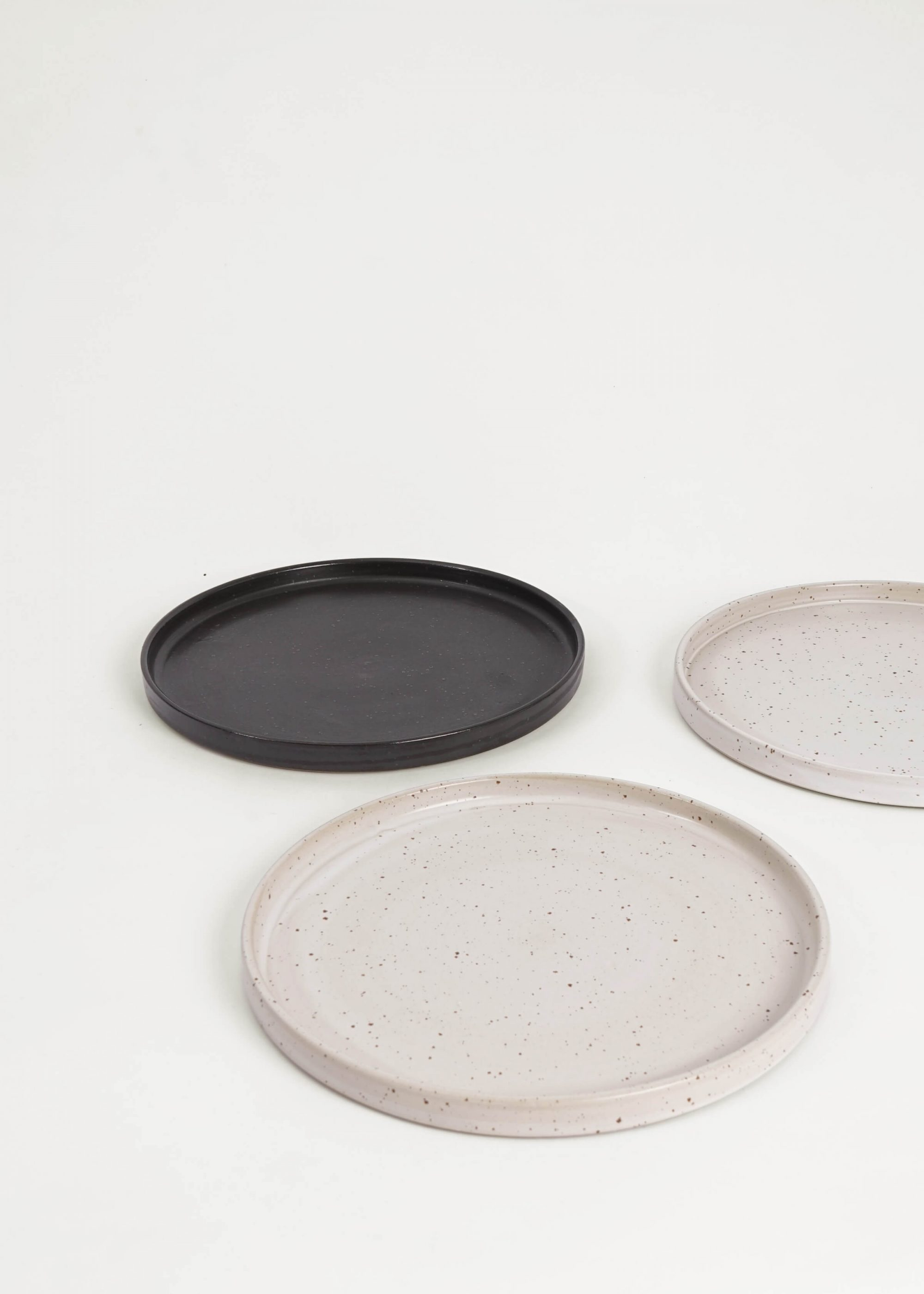 Product image for N° ICC5 High Rim Plate White