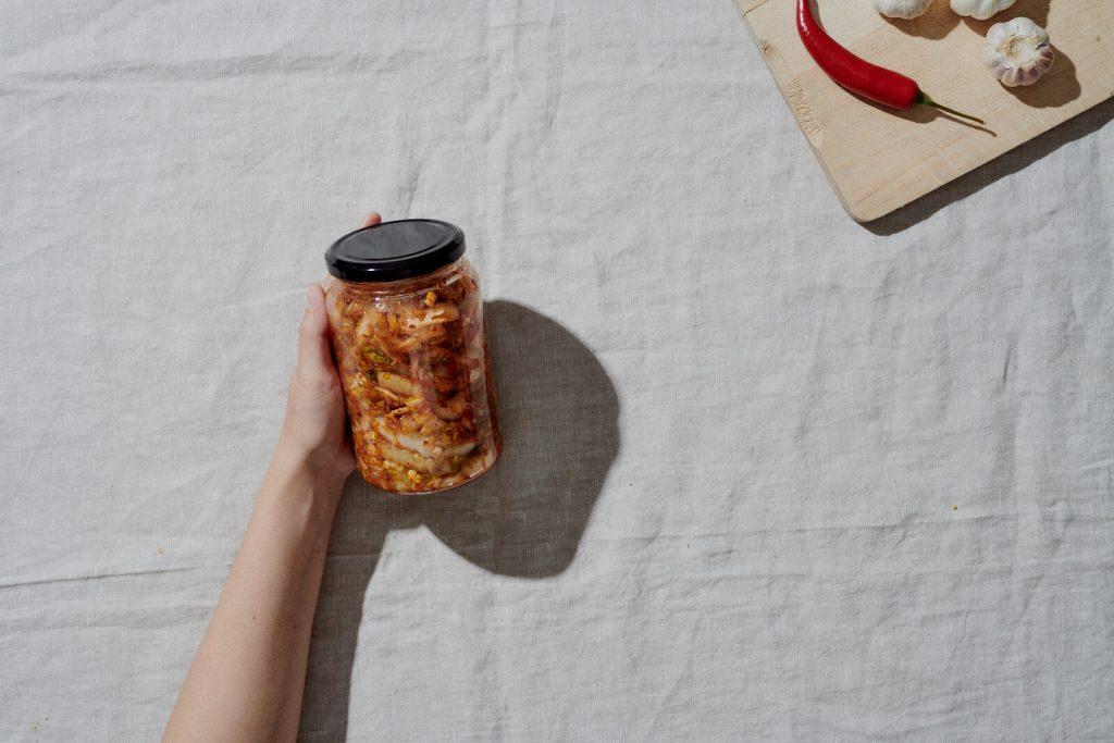 Kimchi schnelle Zubereitung